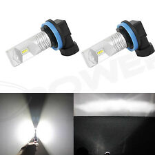 JDM ASTAR 2x 6000K  Xenon White H8 H9 H16 LED Bulbs Driving Fog Lights Lamps DRL