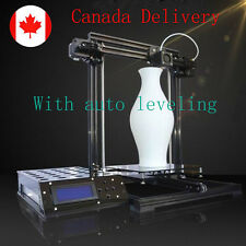 Aluminum Frame Auto levelin Reprap Prusa I3 3D Printer DIY KIT 220*220*300mm LCD