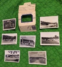 1950s Vintage Photos in Folder Renfro Valley KY Kentucky  B&W 7 of 8 Stmpd Maild