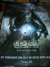 E3 2014 Expo Black Gold MMO Steam Punk Poster Hat Bag Sticker SheetLot Comic-Con