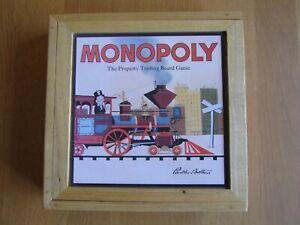 Monopoly Nostalgia Wooden Box Edition