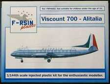F-RSIN Models 1/144 VICKERS VISCOUNT 700 Alitalia Italian Airlines