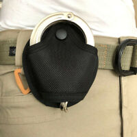 Tactical Handcuff Holder Bag Quick Pull Bag Cuffs Holster with Snap Closure