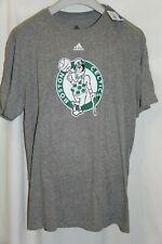 Men's Adidas Boston Celtics Classic Logo Tri-Blend Heathered Grey T-Shirt 2XL