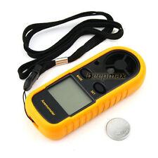 GM816 Portable Anemometer Wind Speed GaugeTemperature Measure Digital 30 m/s
