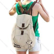 Korean Women Lady Girl Student Canvas Backpack #L Handbag Shoulder Bag Best Gift