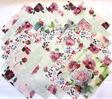 """ROSEWATER from Quilting Treasures - (30) 6.5"""" rotary-cut fabric square set"""