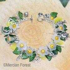 Wiccan Charm Bracelet - Daisy- Pagan Jewellery, Wiccan, Witch, Pagan Bracelet