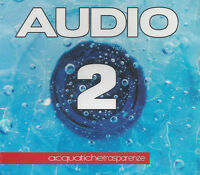 CD ♫ Compact disc **AUDIO 2 ♦ ACQUATICHE TRASPARENZE** nuovo sigillato Slipcase