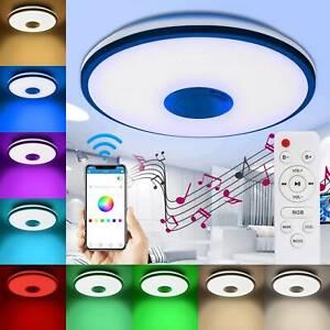 60W LED Deckenleuchte RGB Sternenhimmel Deckenlampe Dimmbar mit Fernbedienung