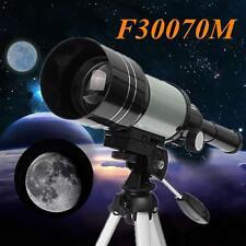TELESCOPIO MONOCULARE ASTRONOMICO RIFRANGENTE TREPPIEDE CAVALLETTO F300/70MM