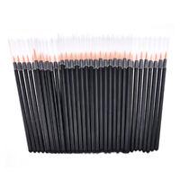 50pcs Disposable Eyeliner Brush Makeup Wand Applicator Eye Liner Cosmetics Tools