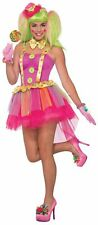 Buttons the Clown Womens Costume NEW Standard Size Circus Pink Purple Tutu