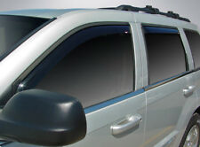 In-Channel Vent Visors for a 1999 - 2004 Jeep Grand Cherokee