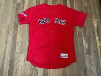 #74 Team Issued Boston Red Sox Red Alternate Jersey MLB Authenticated