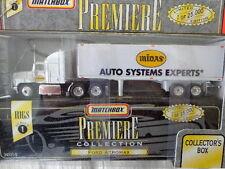 MATCHBOX DIECAST PREMIER COLLECTION FORD AEROMAX TRACTOR MIDAS TRAILER