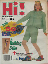 Hi! Magazine 6 July 1990 Lisa Stansfield Pasadenas Billy Warlock & Erika Eleniak