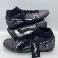 Nike Mercurial Superfly 7 TF Mens Soccer Shoes Turf Cleats AT7978-010 Size 11.5