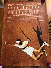 JOHN MCENROE - IN THE REALM OF PERFECTION SS Original Movie Poster, 27x40
