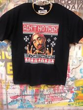 2pac t-shirt Christmas shirt nothing but a Christmas party funny