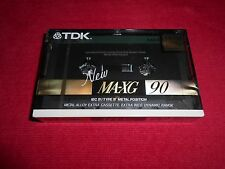 NEW  TDK MA-XG 90  CASSETTE TAPE . SEALED