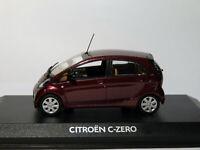 Citroën C-ZERO de 2010 Prune métallisé au 1/43 de NOREV AMC019016