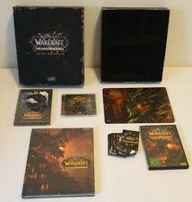 World of Warcraft Cataclysm Collector's Edition - Sammler - Komplett & Neuwertig