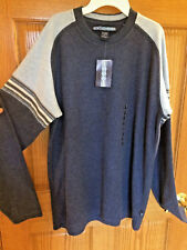 MEN'S XG EXTREME GEAR BRAND LONG SLEEVED SWEATER SHIRT SIZE L NWT BLUE bx20