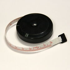 "Mini Retractable 60"" 1.5M Sewing Tailor Cloth Soft Flat Tape Body Measure Ruler"