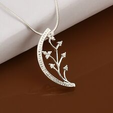 Mens Women's Unisex 925 Sterling Silver Necklace B38