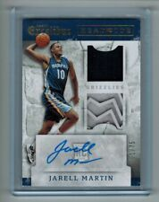 2015-16 EXCALIBUR JARELL MARTIN RC AUTO DUAL RELIC HEAD TO TOE 01/75 FIRST ONE!!