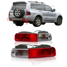 Pair For Mitsubishi Pajero MONTERO Shogun 2003-06 V73 V77 Rear Bumper Fog Light