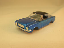 JOHNNY LIGHTNING METALLIC BLUE MUSTANG HARDTOP SHELL ~ EXC ~ FITS AURORA T-JET