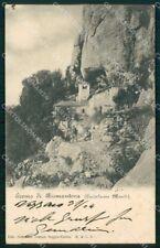 Reggio Emilia Castelnovo Monti Eremo di Bismantova ABRASA cartolina RB7156