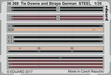 Eduard PE 36369 1/35 Tie Downs And Straps Acier Allemand