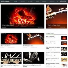 DIGITAL MUSIC SHOP - Home Based Make Money Online Website Business For Sale