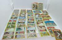 1972 Topps Baseball Card Lot - 47 Cards - Some Dups Including HOF and Team