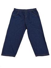 Gr.44/46/48 48/50/52 54/56/58 kurze Leggings 3/4 Jeans-Leggings Jeggings Capri