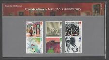 GB 2018 ROYAL ACADEMY OF ARTS 250TH ANNIVERSARY STAMP PRESENTATION PACK