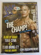 WWE KIDS MAGAZINE ISSUE 50 & GIFT JOHN CENA THE ROCK INFLATABLE HAND