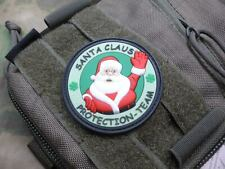 JTG  Santa Claus Protection Team Patch, tannengrün / JTG 3D Rubber Patch, neue 2