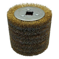 Steel Drawing Flap Polishing Drawing Wheel Grinding Abrasive Tool f/ Metal 0.3mm
