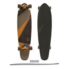Ram Gabo Longboard Skateboard Drop Through Skate Board Holzboard Komplett