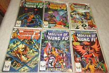 Master of Kung Fu U-PICK ONE #113,114,115,116,117 or 118 (1982) PRICED PER COMIC