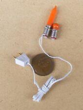 1:12 Maßstab Kamin Flackernde Glühbirne Set Tumdee Puppenhaus Lighting Zubehör