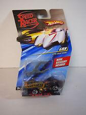 2008 Hot Wheels Speed Racer Series - GRX Race Car w/ Spear Hooks