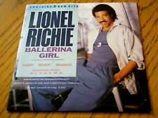 "LIONEL RICHIE - BALLERINA GIRL  7"" VINYL PS"