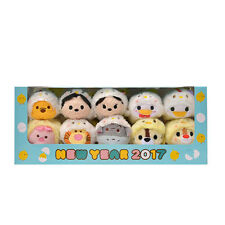 Disney Tsum Tsum New Year Rooster 2017 10 Piece Box Set Eto Tori from Japan