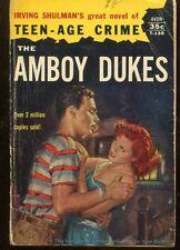 The Amboy Dukes By Irving Shulman Rare Avon Paperback Collectible Scarce