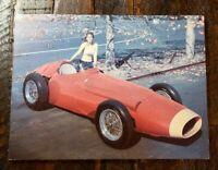 "Vintage MASERATI 1954 Formula 1 Photo Print.  7 "" x 9""  Free Shipping"